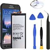 HDCKU S6 Active Battery Replacement Kit for Samsung Galaxy S6 Active G890 G890A EB-BG890ABA Battery 3500mAh
