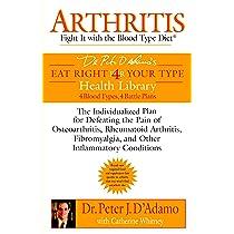 blood type diet and rheumatoid arthritis
