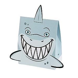 Fun Express Shark Treat Boxes - 12 Pieces