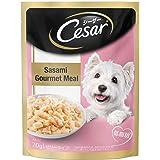 Cesar Adult Wet Dog Food (Gourmet Meal), Sasami, 70g Pouch