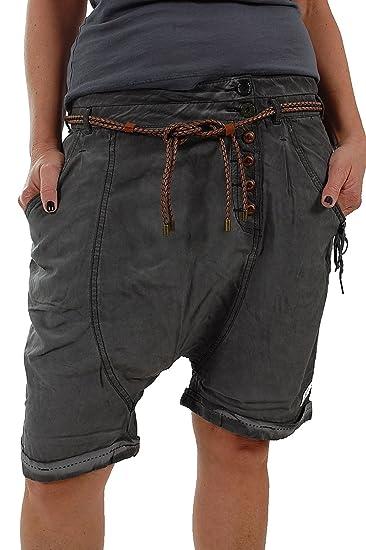Shorts in schwarz für Damen Khujo 1O6xa7OTBN