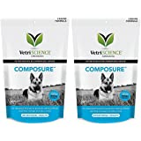 VetriScience Laboratories Composure for Dogs, Calming Support Formula, Bite Sized Chews Bundled with Canine Health Tracker