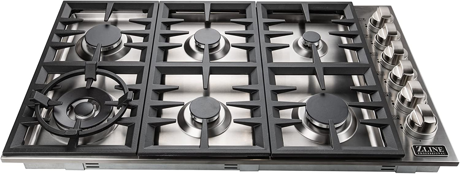 ZLINE 36 in. Dropin Cooktop with 6 Gas Burners (RC36) 71fVyRgTPELSL1500_