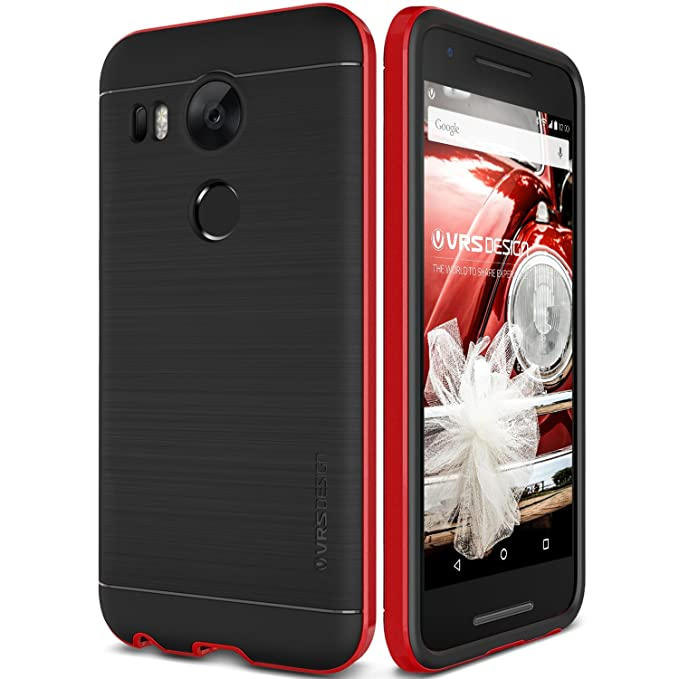 pretty nice f111c 409bf Nexus 5X Case, Verus [High Pro Shield][Red] - [Military Grade Drop  Protection][Slim Fit] For Google Nexus 5X