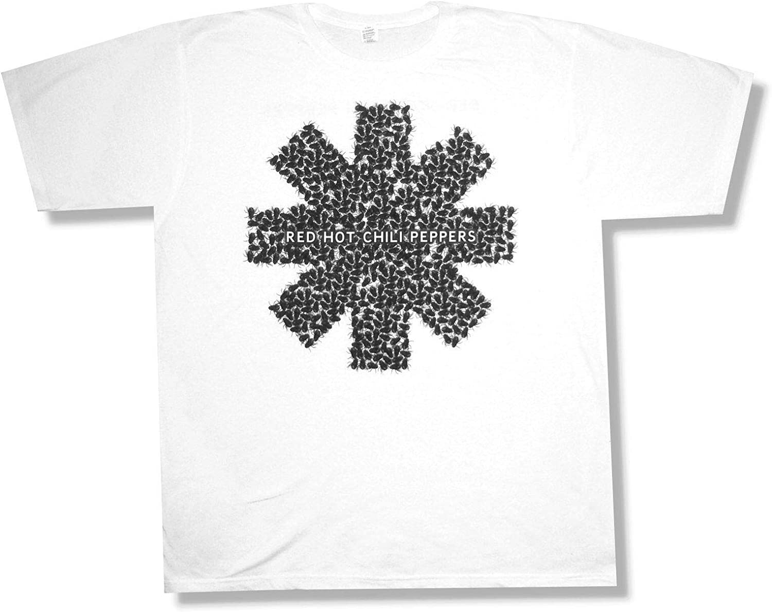 Red Hot Chili Peppers Fly Asterisk White T Shirt New Official
