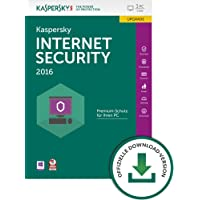 Kaspersky Internet Security 2016 - 1 PC / 1 Jahr Upgrade [PC Download]
