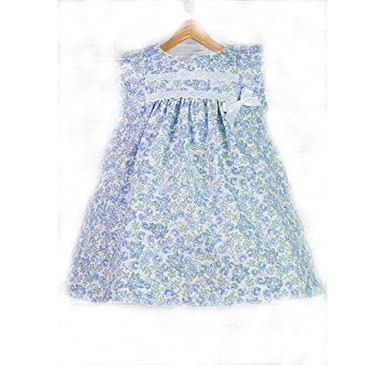 515172cbd Alber Stunning Summer Spanish Baby Girl Dress: Amazon.co.uk: Clothing