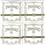 PIRASTRO OLIV オリーブ バイオリン弦セット(E線ループエンド)