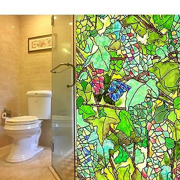 HAOLY Glas klar Aufkleber,Badezimmer Fenster Papier Toilette ...