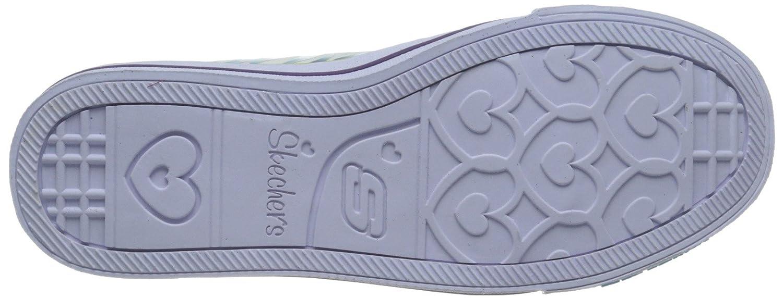Skechers Orteils Scintillent Triple Up Chaussures Light-up 2wMkmrI