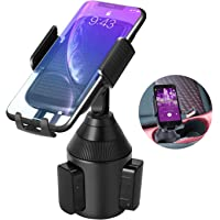 Car Phone Holder, Apsung Universal Adjustable Automobile Smartphone Cup Holder for iPhone Xs/XS Max/XR/X/8 Plus/Samsung Galaxy/HTC and All Smartphones