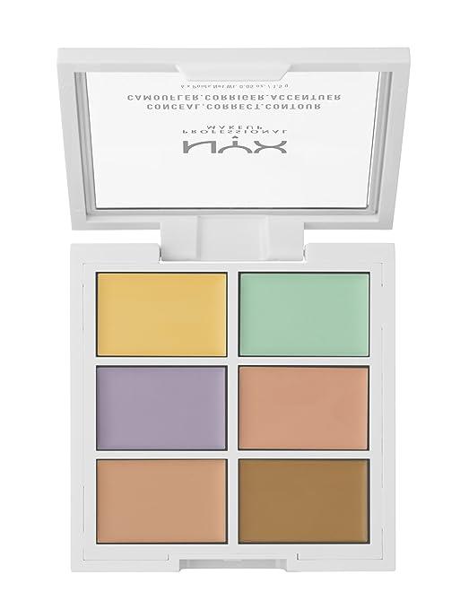 NYX Farbkorrektur Palette, 1er Pack: Amazon.de: Beauty