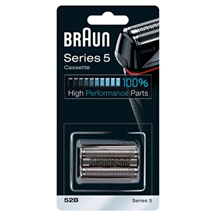 Braun Cassette 52B - Recambio para afeitadora eléctrica hombre Series 5, compatible con generación actual de Series 5 y antigua