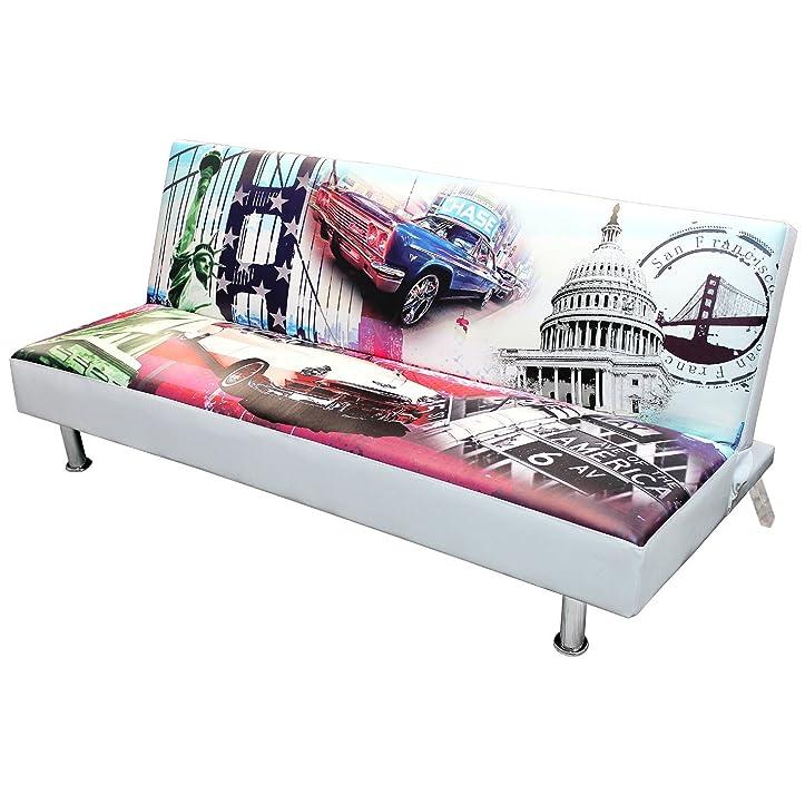 Moderne Schlafcouch für Kinderzimmer und Jugendzimmer 179x100cm ...