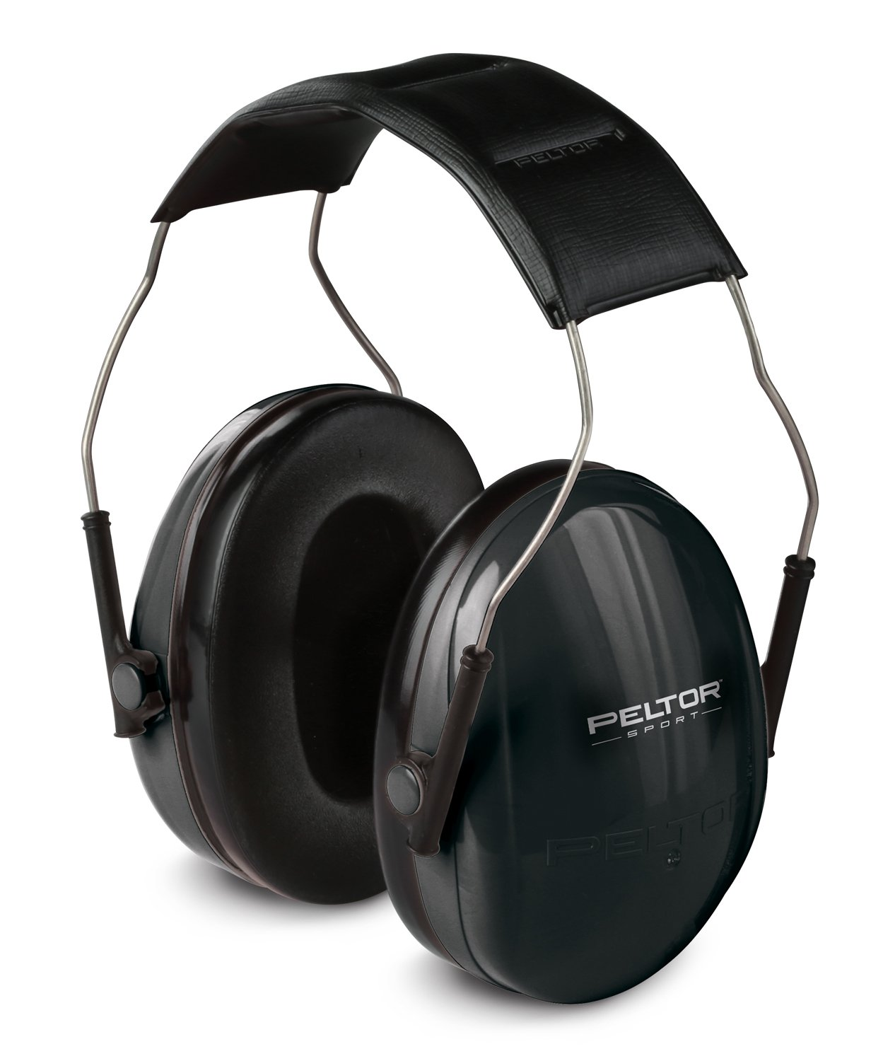 Peltor Sport Earmuffs, Black, Small, 1/Pack by 3M SAFETY