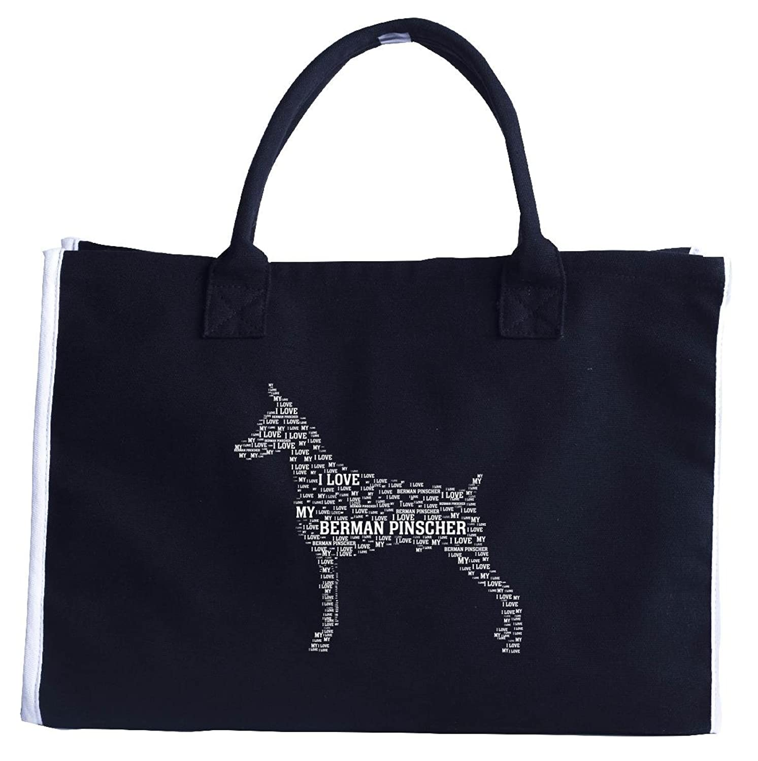 I Love My Doberman Pinscher. Funny Gift For Pet Lovers - Fashion Tote Bag
