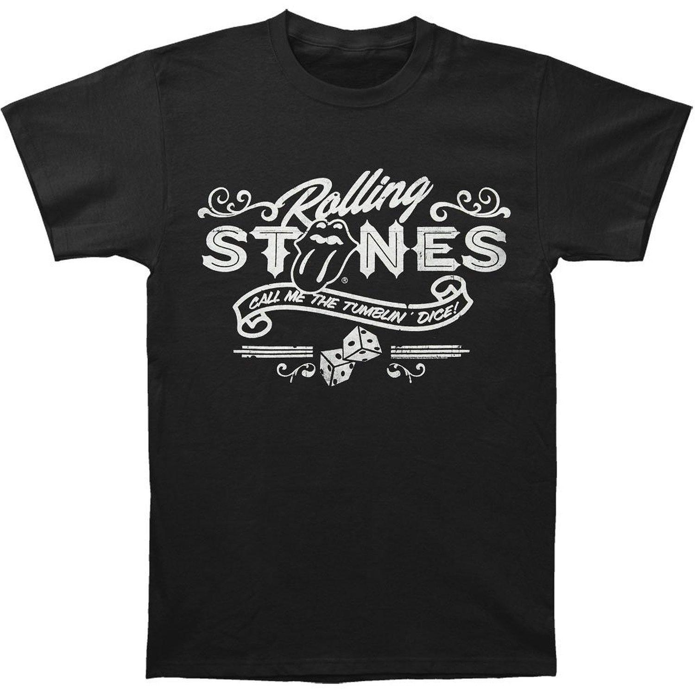 Rolling Stones Men's Tumbling Dice T-Shirt