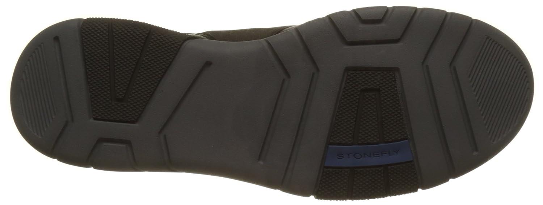 Stonefly Neptune 3 Brush O/Ve, Zapatillas para Hombre, Negro (Nero/Black), 41 EU