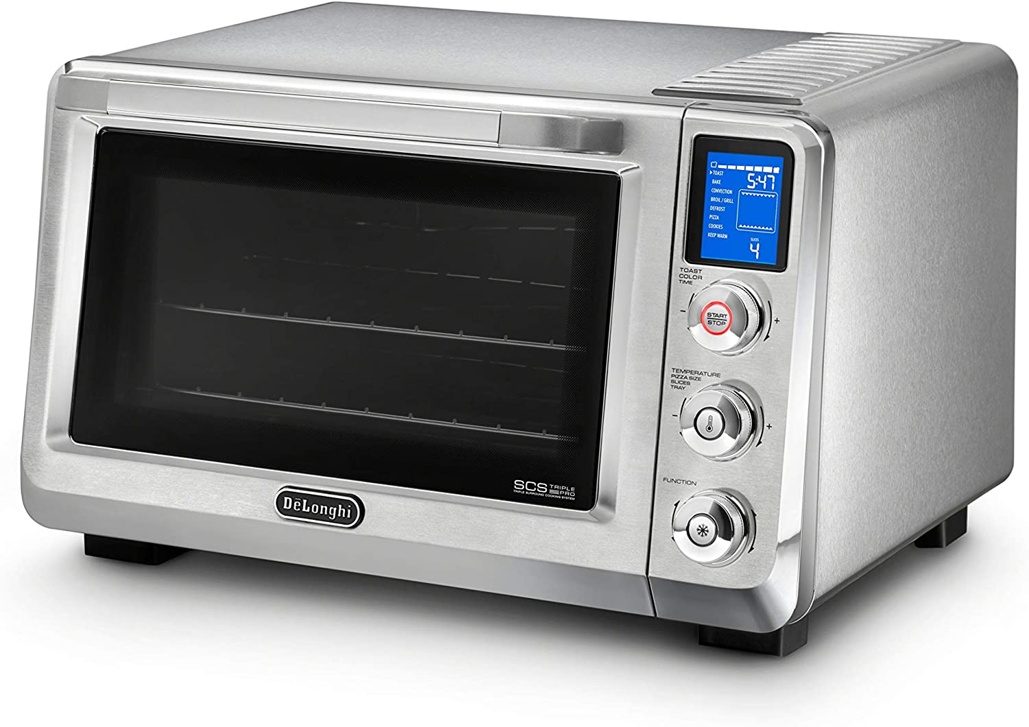 DeLonghi America, Inc EO241250M Livenza Digital Countertop Oven, Stainless Steel