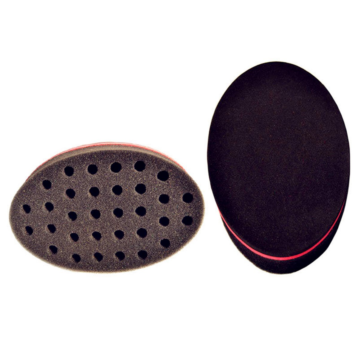Careshine Barber Curl Twist Hair Sponge Brush Keeping Afro Curl(2Pcs)