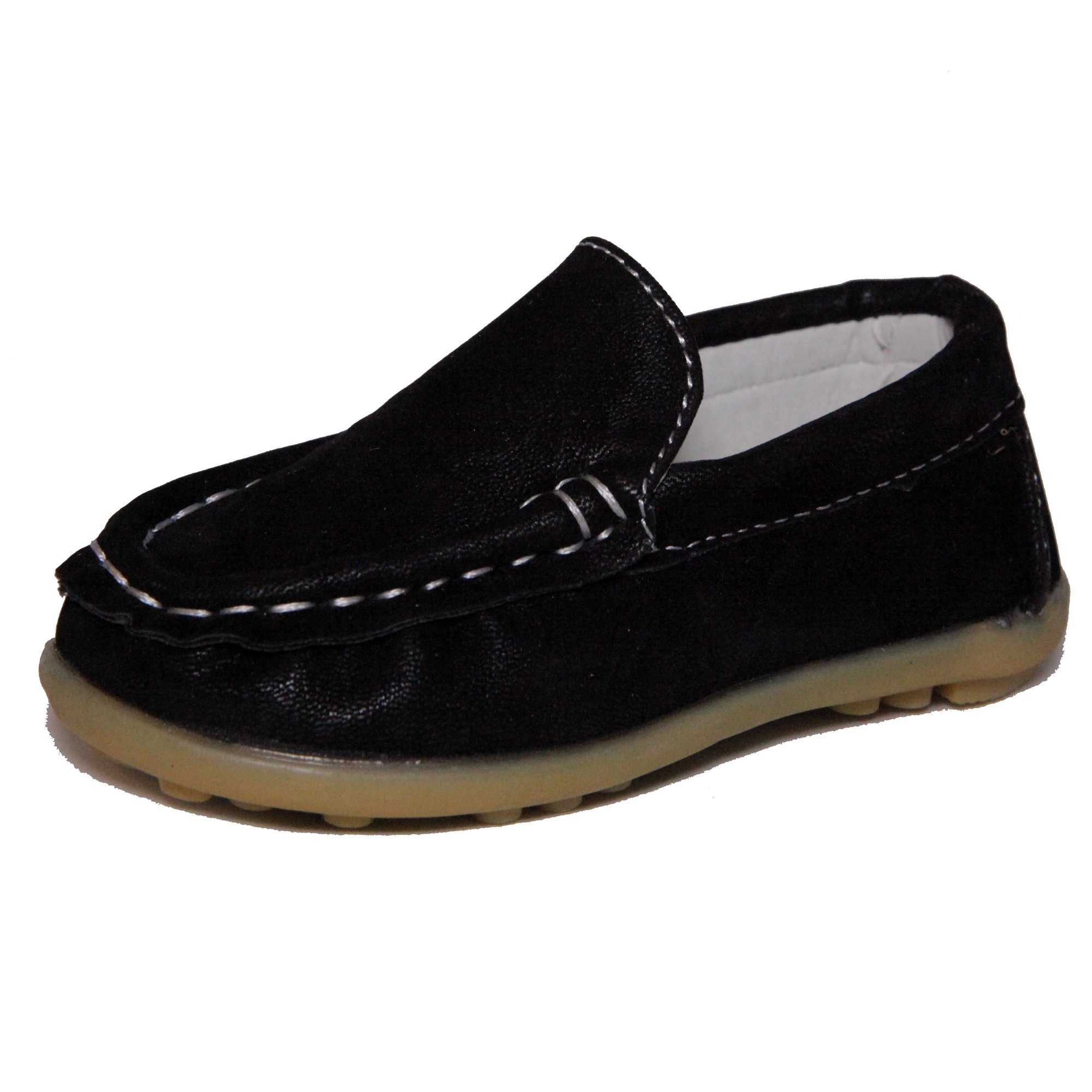Kids Conda Boys Suede Loafers Water Resistent Slip On Split Leather Boys Oxfords - Deck Shoes / Sneakers