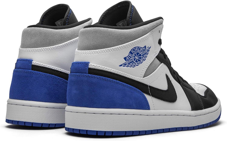 Jordan Air 1 Mid Se Game Royal Black Toe Mens 852542 102 - Size