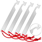 4 Pieces Firefighter Pocket Tools Stainless Steel Firefighter Tool for Firefighter Gifts Men Women