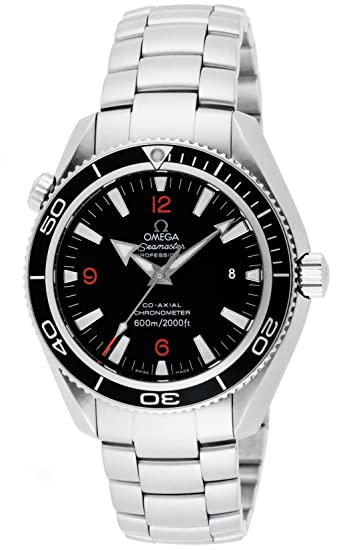 Black Dial Seamaster Stainless Steel