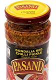 Pasand Gondalia Red Chilli Pickle 400 g in glass jar