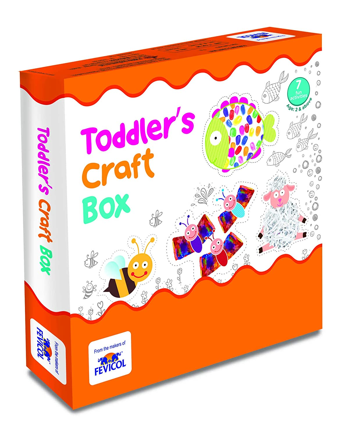 Buy Pidilite Fevicreate Toddler Craft Box Online At Low Prices In India Amazon In