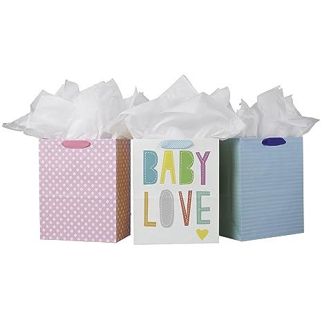 Amazon.com: Hallmark - Bolsas de regalo grandes con papel de ...
