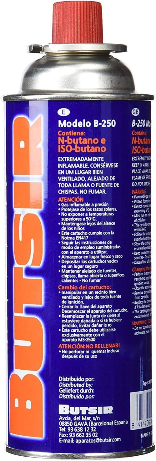 ANGOPE Gas de 227Gr Pack, Multicolor, 4 x Cartucho: Amazon.es: Hogar