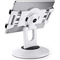 """AboveTEK Retail Kiosk iPad Stand, 360° Rotating Commercial Tablet Stand, 6-13.5"""" Ipad Mini Pro-Business Tablet Holder…"""