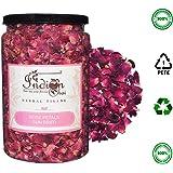 The Indian Chai Rose Petals Sun Dried - Herbal Tea - Rose Tea - For Beautiful Hair & Skin 100 Grams