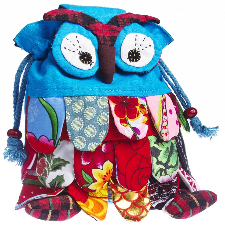 amazon com owl backpack for children blue kids u0027 backpacks