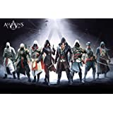 GB Eye Limited GB Eye Poster représentant les personnages d'Assassins Creed Grand format 61 x 91,5 cm