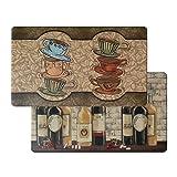 Art3d Premium Reversible Memory Foam Kitchen Mat