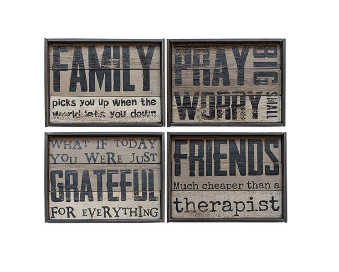 Laughing Moose Gifts Family Framed Slate Board, Asst.