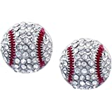 Baseball Earrings Stud Posts Kenz Laurenz