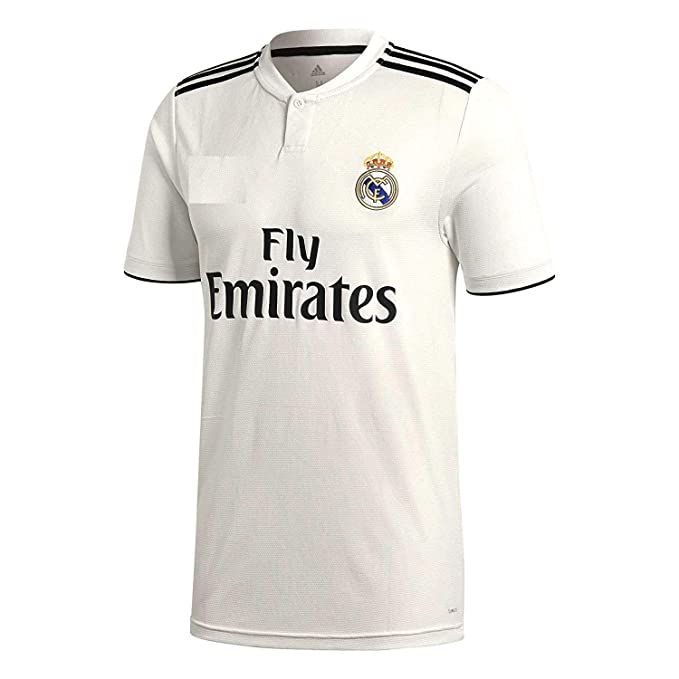 35092de37 Buy Real Madrid Home 2018-2019 Jersey kit for Adults - T Shirt and Shorts  Jersey Set Online at Low Prices in India - Amazon.in