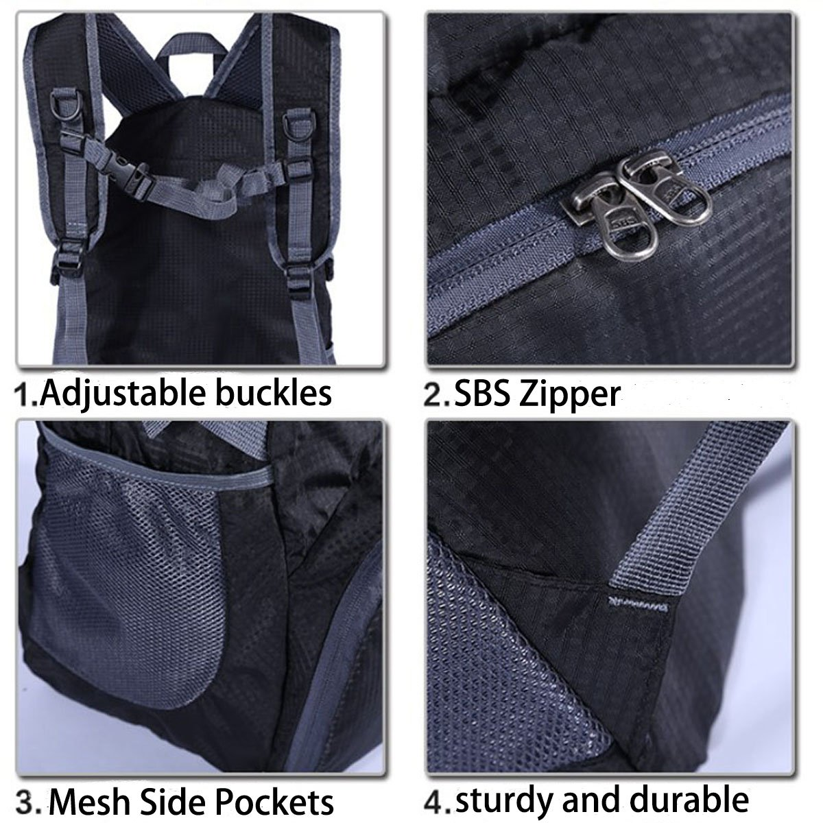 FW-US-TBP01/_FF FlowFly Travel Hiking Backpack Unisex Rated 35L Lightweight Waterproof Handy Daypack Flowish Inc