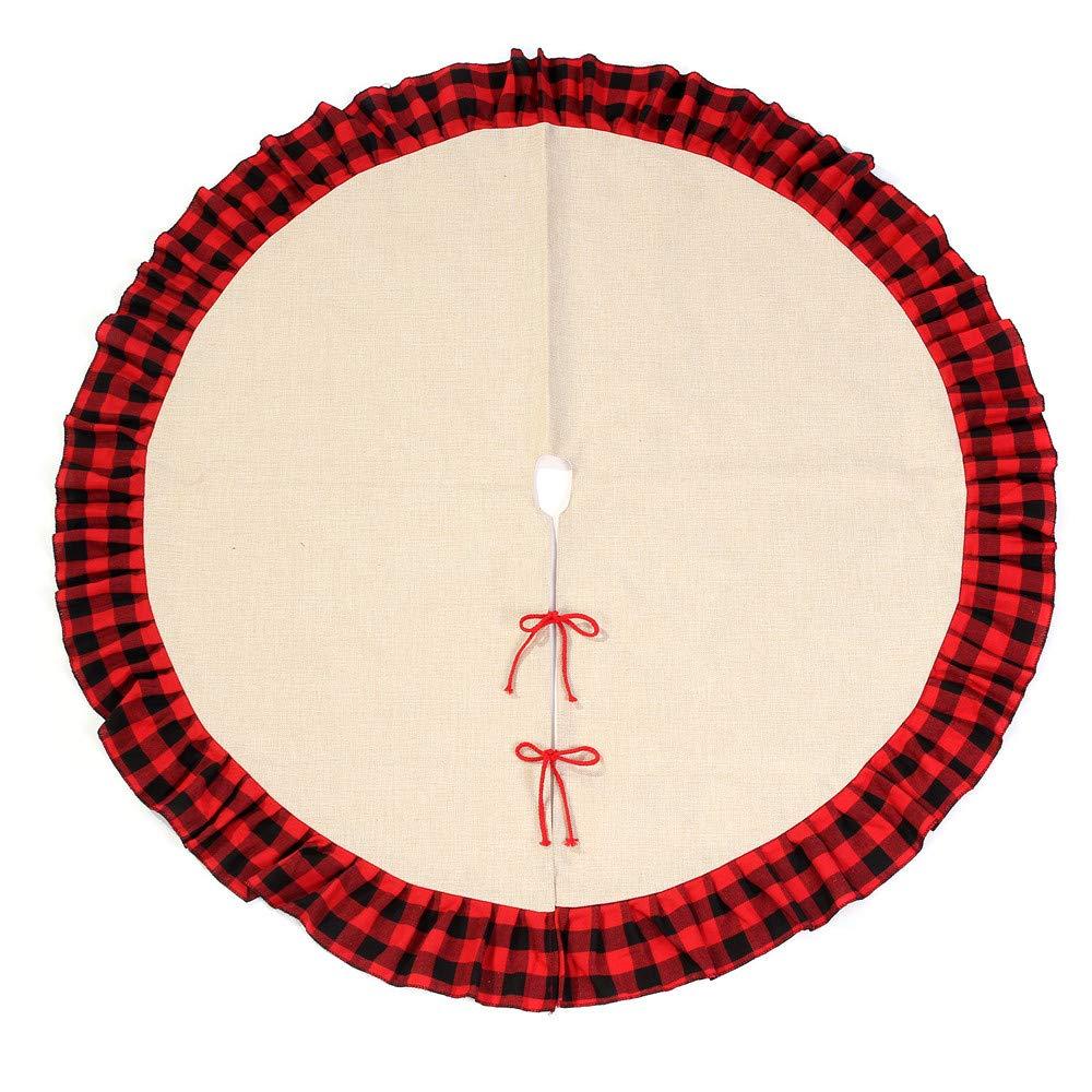 Amazon.com: Falda de árbol de Navidad de 48.0 in, diseño de ...