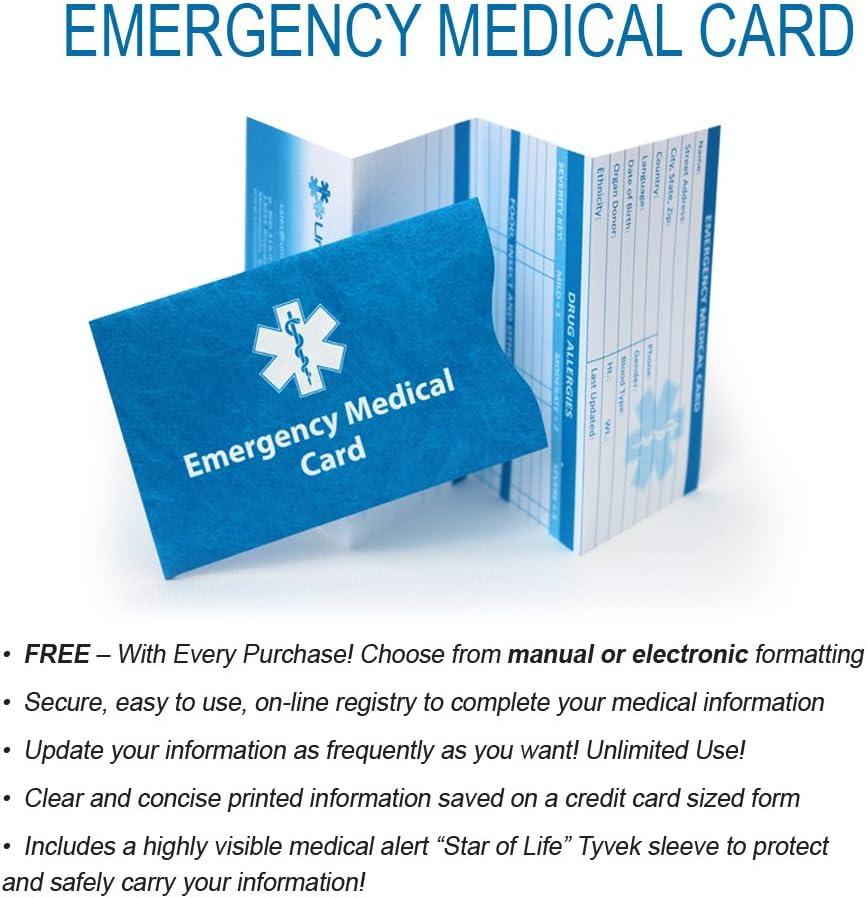 Pre-engravedHemophilia Medical Alert ID Keychain Cloisonn/é Star of Life