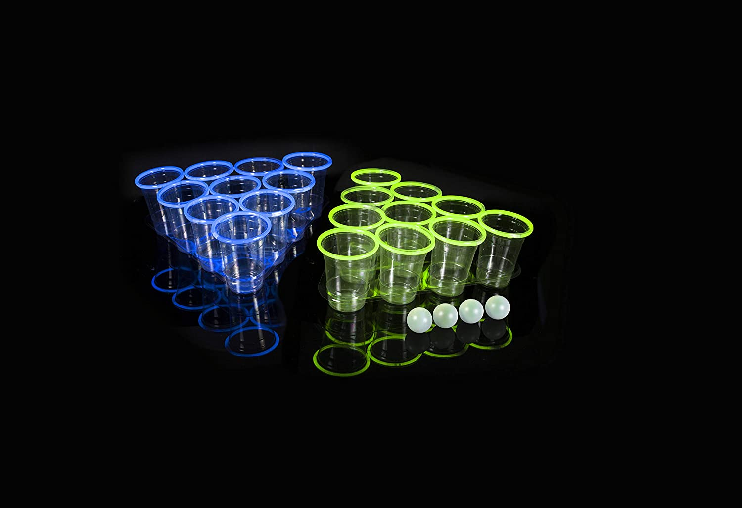 FineLife Products Glow Beer Pong Set