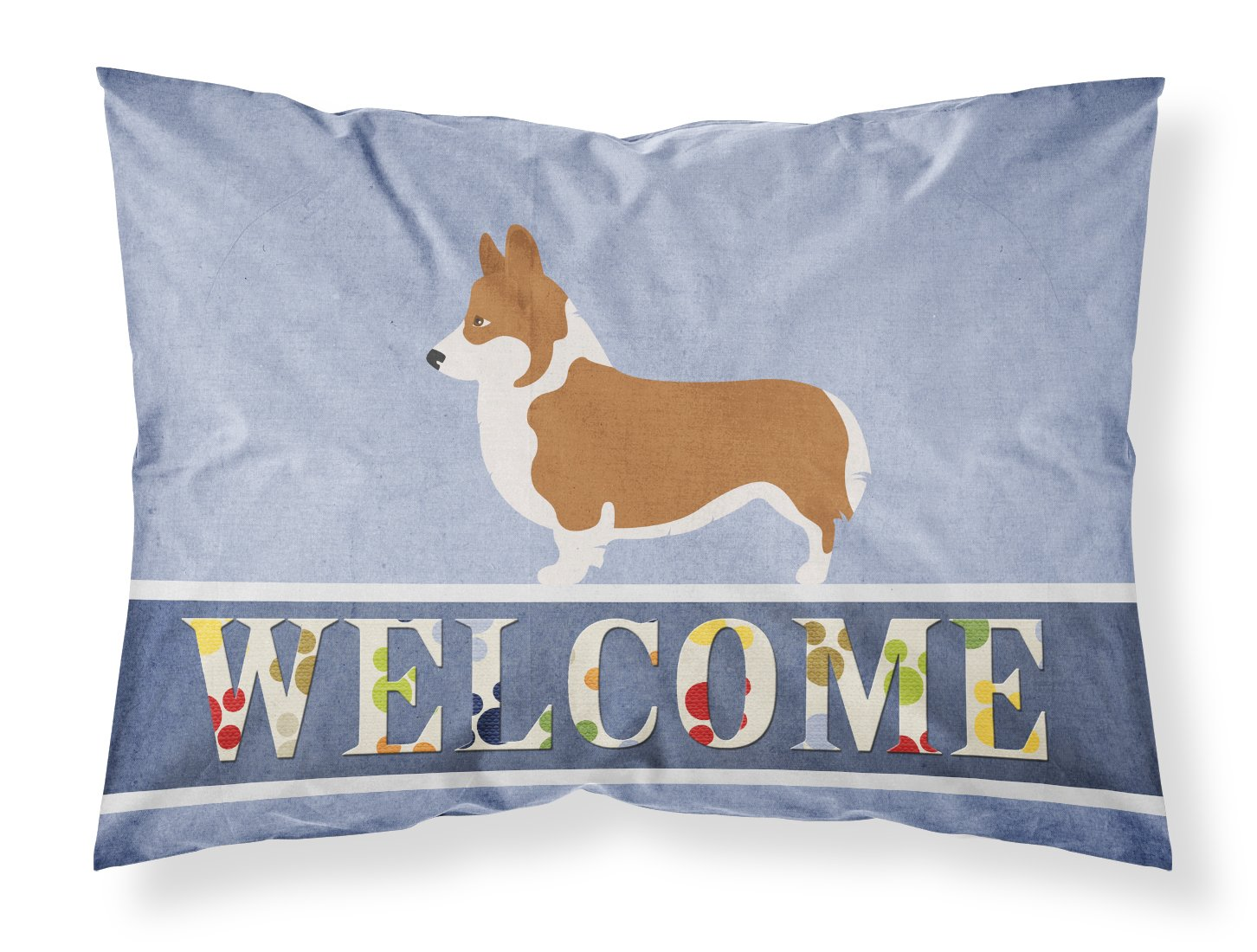 Standard, Carolines Treasures Cairn Terrier Welcome Pillowcase
