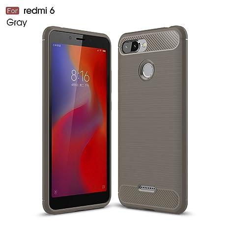 2ndSpring Xiaomi Redmi 6 Funda, Xiaomi Redmi 6 Carcasa Slim ...
