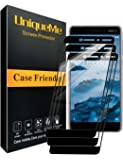 [3 Pack] INGLE Compatible with Nokia 6.1 / Nokia 6 2018 Screen Protector, Full Coverage Tempered Glass Screen Protector…