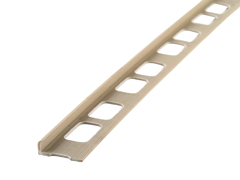 10mm PVC Tile Edge 8Ft Beige Tile Trims MD 84203 3//8