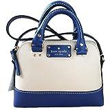 Kate Spade Wellesley MINI Rachelle Cross-body Bag in Pebble Beige & Hyacinth Blue