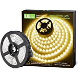 LE 12V LED Strip Light, Flexible, SMD 2835, 16.4ft Tape Light for Home, Kitchen, Party, Christmas and More, Non…